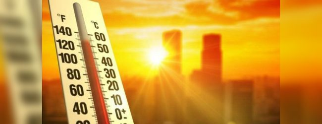 Extreme heat condition in Batticaloa and Ampara