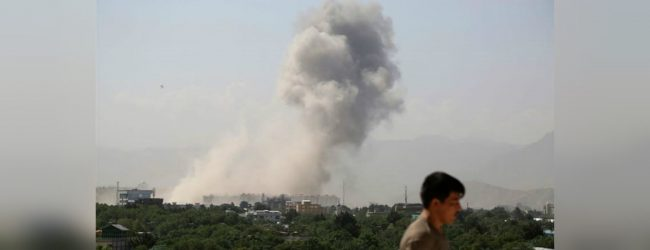Kabul blast: Massive bomb kills at least 10 in Afghan capital