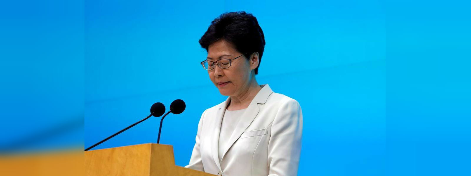 """Hong Kong leader says extradition bill is """"dead"""", refuses independent police inquiry"""