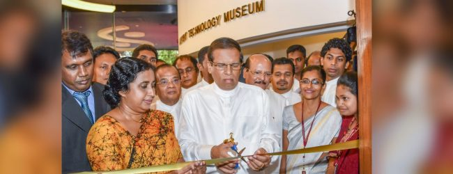 The first ever museum of ancient technology opened
