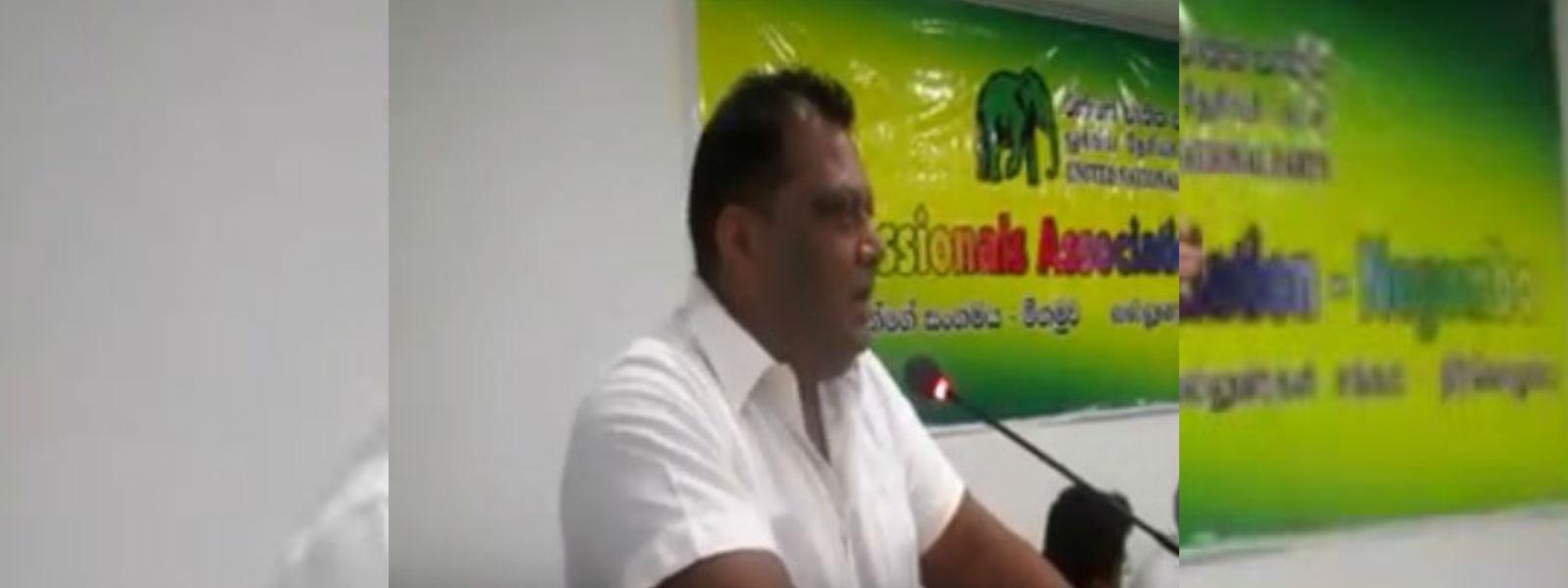 Former UNP PC Royce Fernando arrested