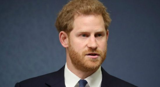 Britain's Prince Harry honours his late mother
