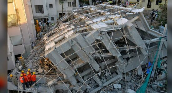 Building collapse kills at least one in southern India