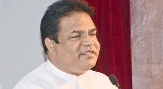 Members of Rajapaksa family against Gota coming forward as next candidate: Minister P. Harrison