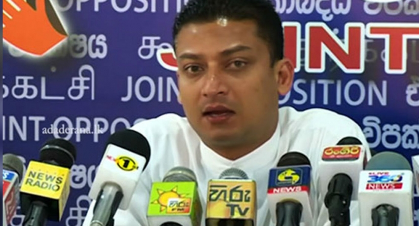 Gotabaya Rajapaksa signed agreements as well- MP Dilum Amunugama