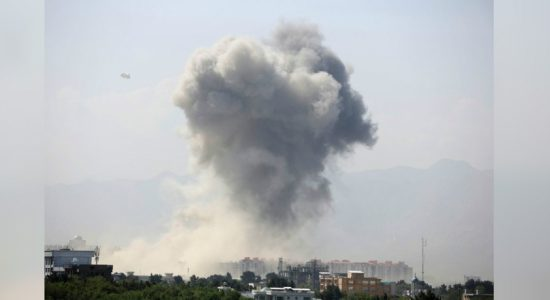 Powerful explosion in Kabul wounds six people
