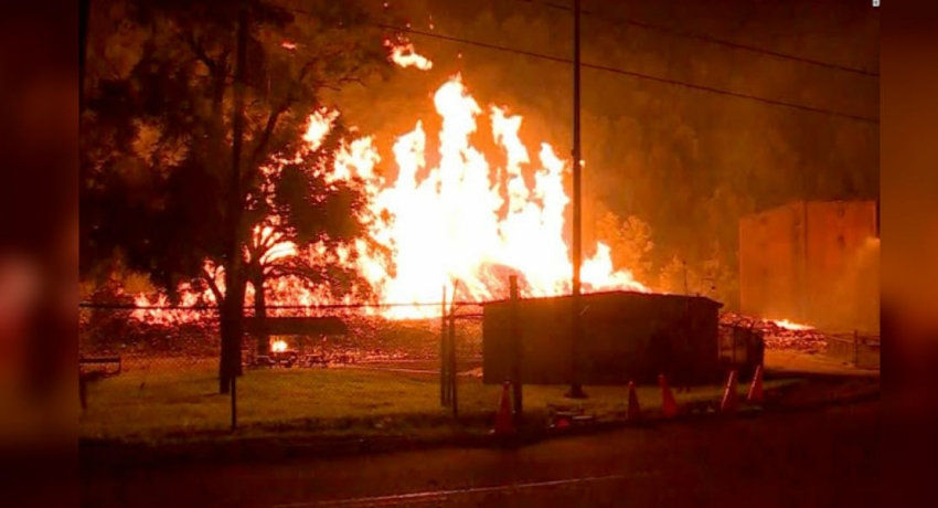 Lightning strike blamed in Kentucky for blaze that scorched 45,000 barrels of bourbon
