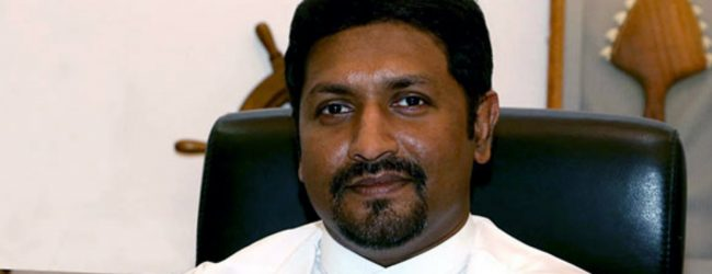 State Minister Ruwan Wijewardene denies entering into agreements with the US