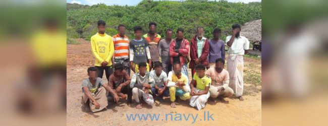 Navy arrests 16 for fishing without valid permits
