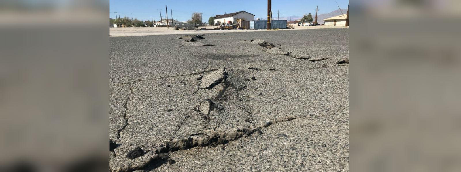 Strong earthquake hits California