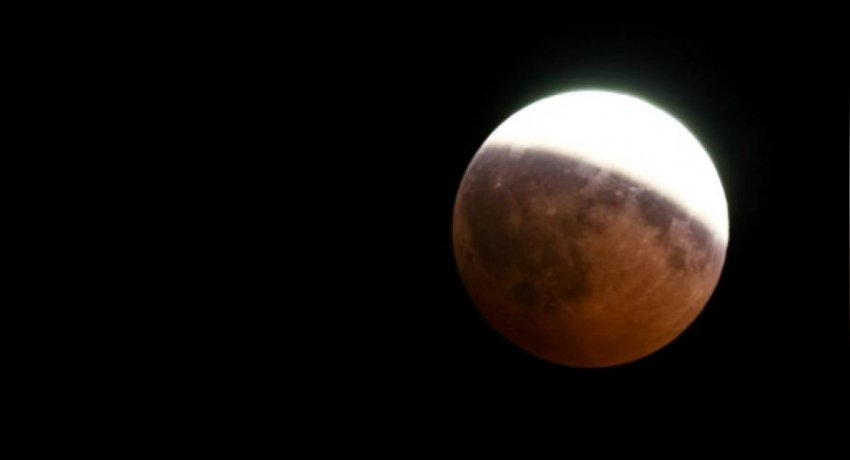 Partial lunar eclipse tonight