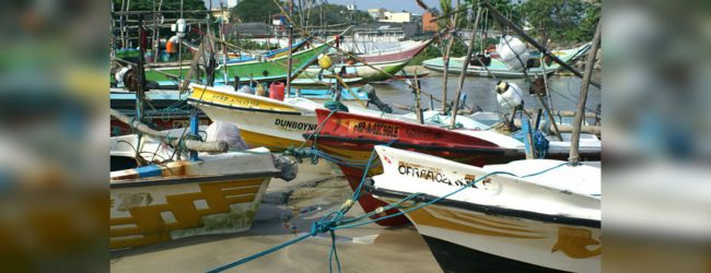 Fishing communities urged to refrain from fishing
