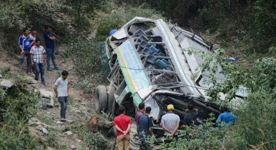 At least 33 killed after vehicle falls into gorge in northern India