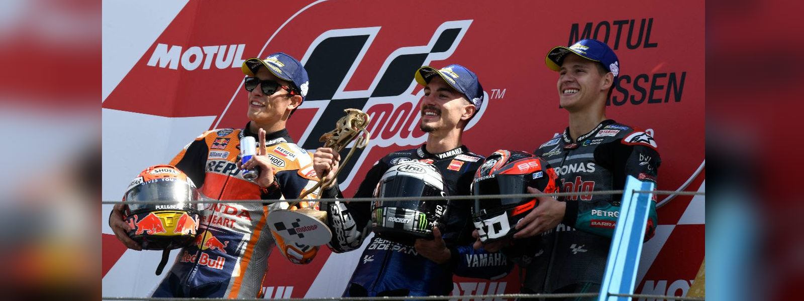 Vinales wins at Assen, Marquez stretches MotoGP lead