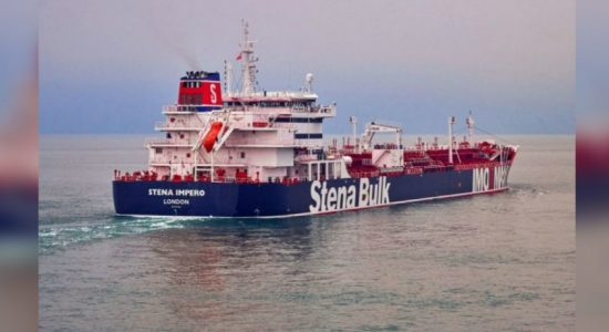 Iranian forces say they seized British-flagged oil tanker in Gulf