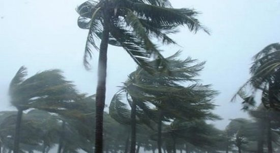 Around 40 houses damaged due to strong winds