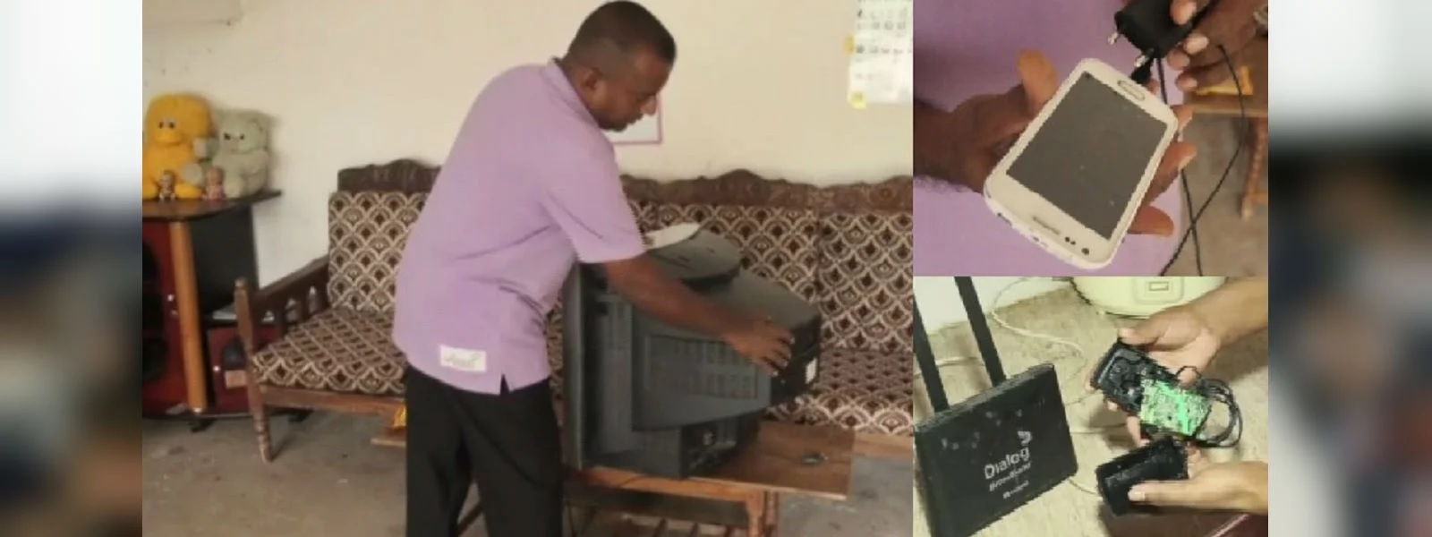 Power spike in Ibbagamuwa damages electric appliances