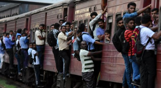 Train services not on full steam