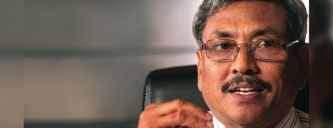 Gotabaya Rajapaksa returns to the country