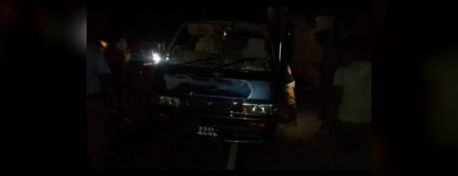 Van chase on Galle road : Suspect succumbs to gunshot wounds