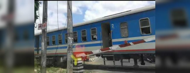 Two dead in Kilinochchi train accident