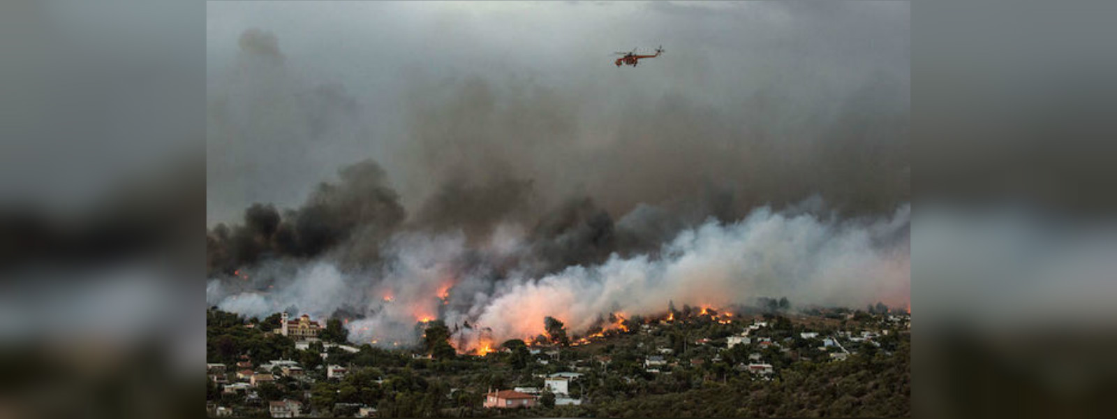 Wildfires force evacuations in Sardinia