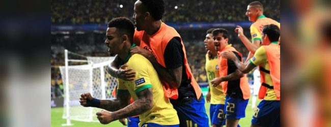 Brazil beat Argentina 2-0 to reach Copa America final