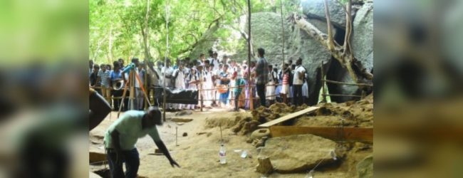 Third phase of Rajagala excavations commences today
