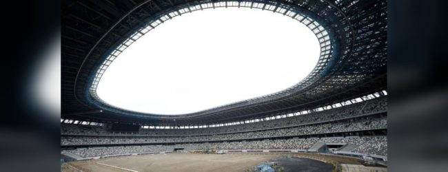 Tokyo's Olympic stadium 90% finished, set to open in December