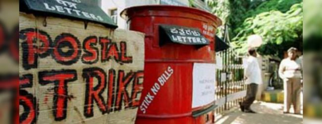 48-hour postal strike in Colombo
