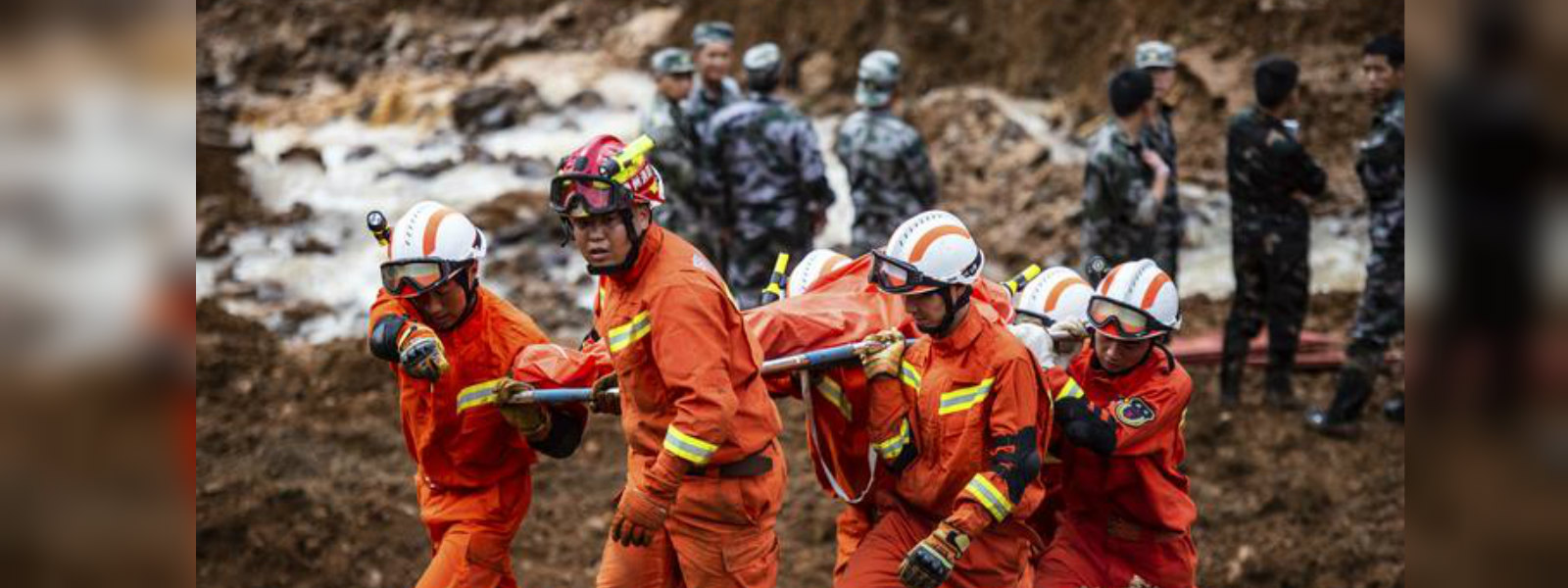 30 killed and 15 reported missing in China landslide