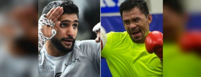 Amir Khan says Pacquiao fight to take place in Saudi Arabia