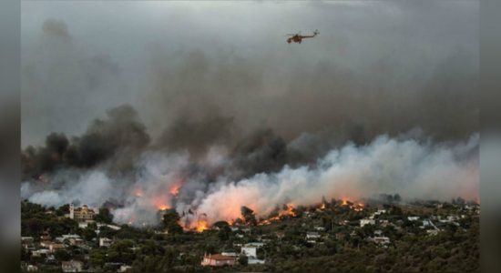 Wildfires force evacuations in Sardinia