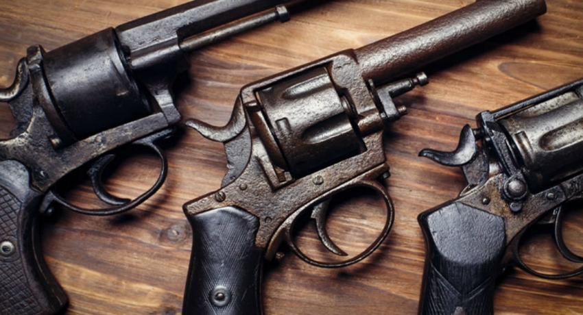 38 year old arrested with foreign fire-arm