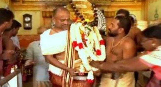 Adi Vel Shakthiwel procession commences from Jaffna