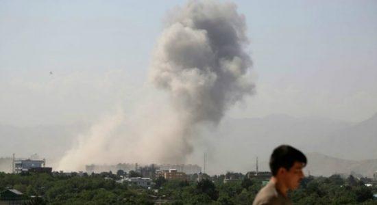 Kabul blast: Massive bomb kills at least 10 in Afghan capital