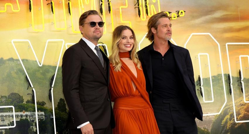 Brad Pitt, Leonardo DiCaprio and Margot Robbie praise director Quentin Tarantino