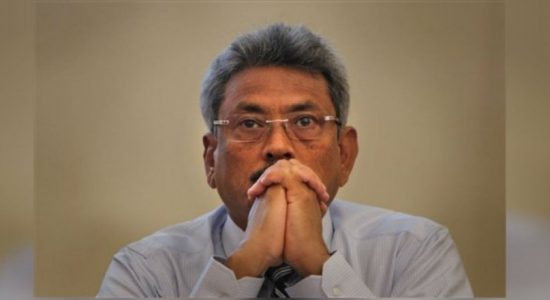 Former Defense Secretary Gotabaya Rajapaksa returns to the island