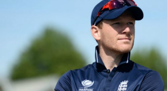 "England captain Morgan hails ""outstanding"" display in hosts' World Cup win over India"