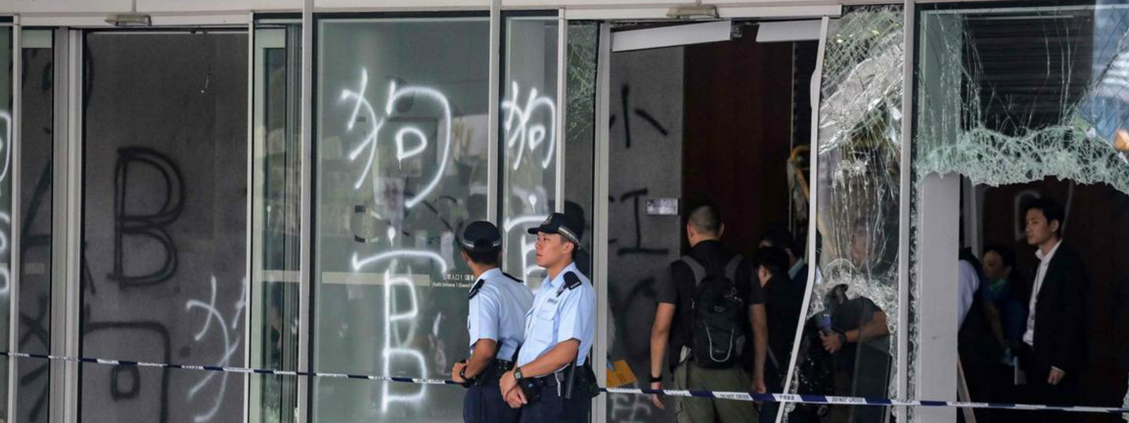 Hong Kong protests: China says protesters 'trample rule of law'
