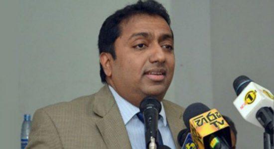 Minister Kariyawasam provides a statement to the PCoI