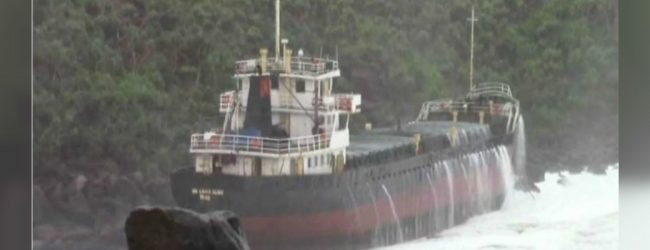 """Fuel removal of """"Sri Lanka Glory"""" suspended"""