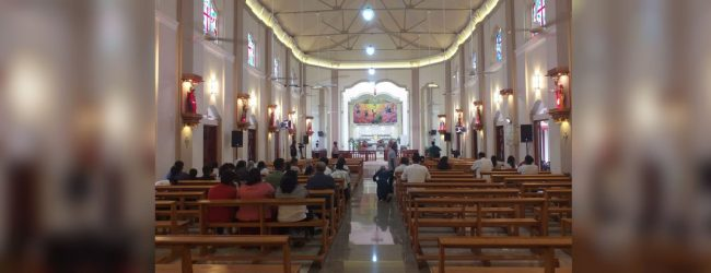 Katuwapitiya church reopens three months after terror attack
