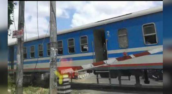 Two dead in Kilinochchi train accident