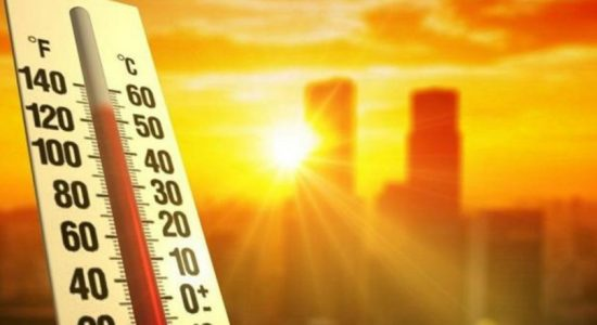 Extreme heat weather for the Eastern province