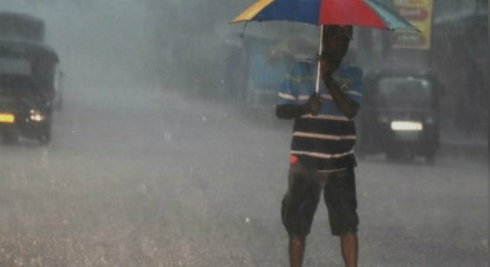 Heavy rainfall predicted!