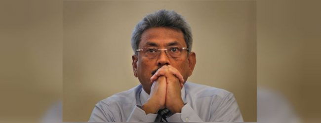 Former Defense Secretary Gotabaya Rajapaksa returns to the island