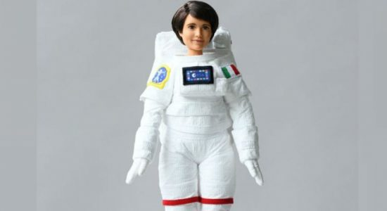 From astronaut to Barbie doll, girls encouraged to think big