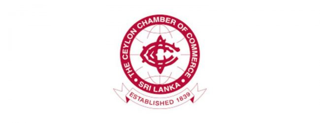 Chairman of  Ceylon Chamber of Commerce writes to PM's secretary