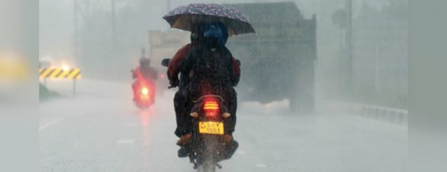 Heavy rainfall of 100-150mm in 8 districts